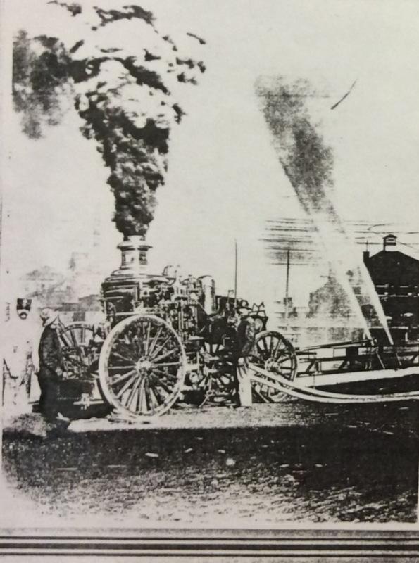 Spokane Fire Station No. 3 Steamer