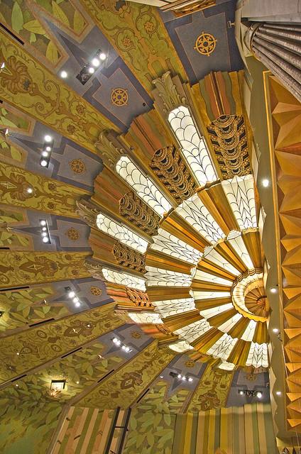Art-deco Ceiling detail