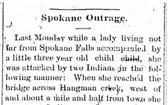 Spokane Outrage