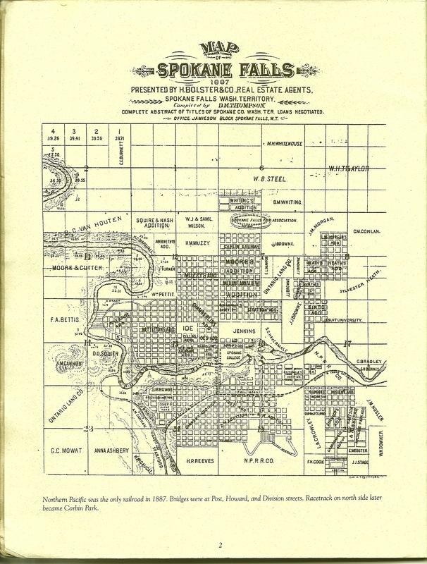 Spokane Falls - 1887
