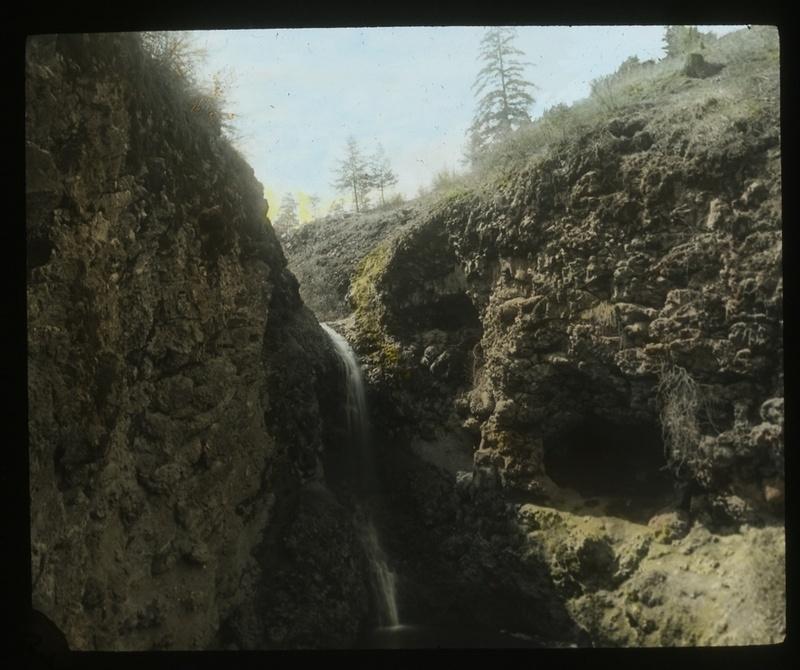 Falls at Indian Canyon - circa 1910