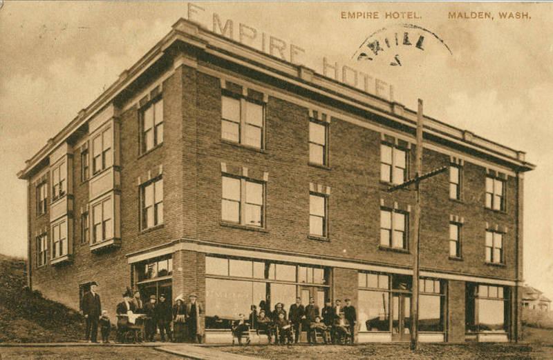 Empire Hotel, circa 1912.