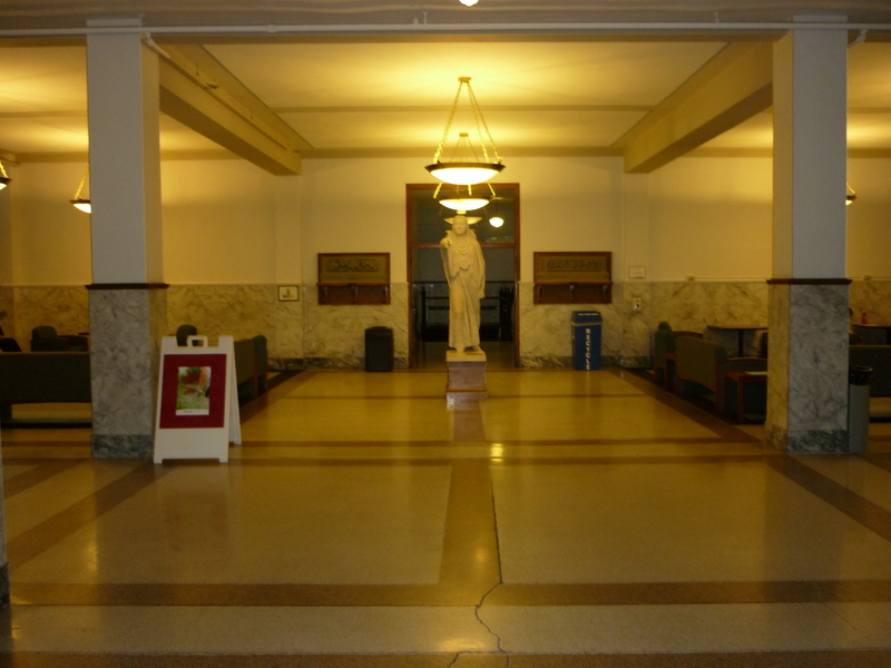 Showalter Hall Lobby (with Sacajawea Statue)