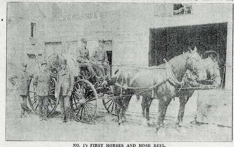 Spokane Fire Station No. 1 Original Structure