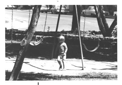Child at Cowley Park date unknown