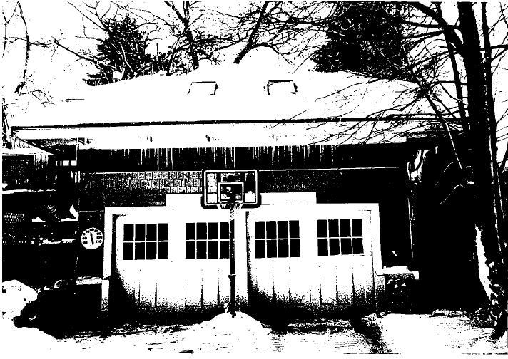 """The """"carriage house"""" in 2005"""