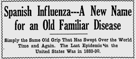 Spanish Flu Article