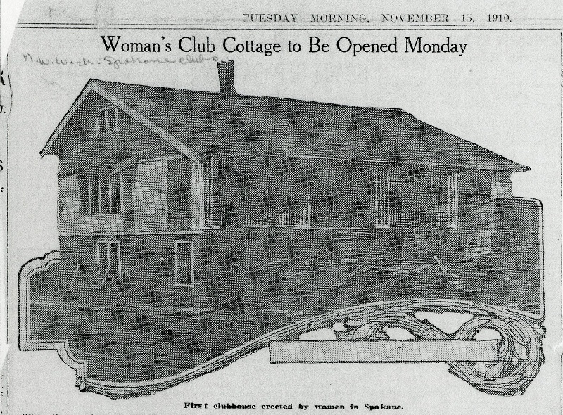 """Woman's Club Cottage to Be Opened Monday"""