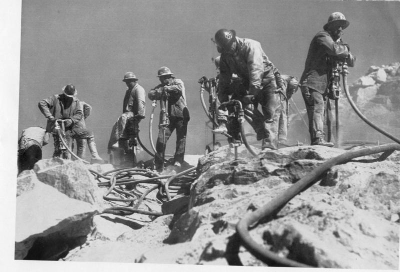 Jackhammer Workers.