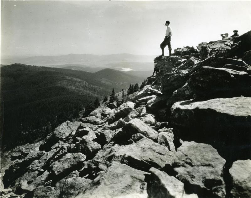 View from the top of Mount Spokane