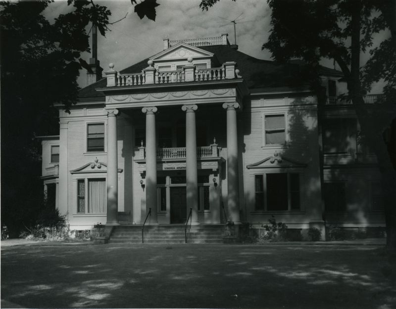 Finch Mansion, 1968.  Image Courtesy of Washington State Archives, Digital Archives.