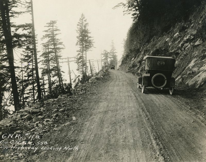 Dirt Highway, 1916, General Subjects Photograph Collection, 1845-2005, Washington State Archives, Digital Archives, http://www.digitalarchives.wa.gov, April 18, 2013.