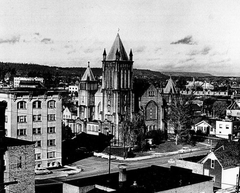 First Presbyterian Church Before I-90