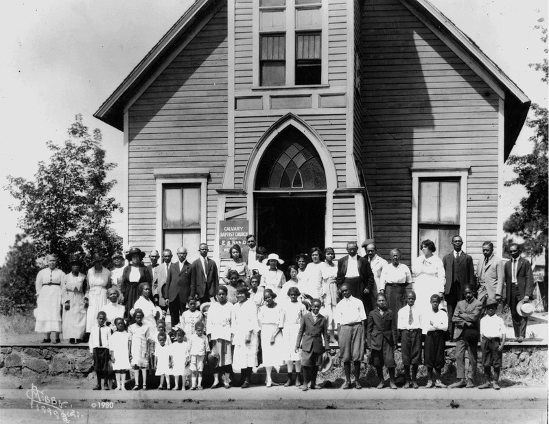 Calvary Baptist Church, 1921 (image L87-1.19998-21 courtesy of the Northwest Museum of Arts and Culture)