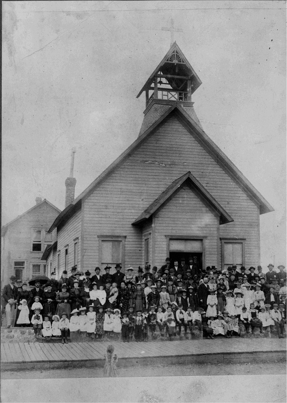 Emmanuel Lutheran Church, 1910s (image L2004-32.585 courtesy of the Northwest Museum of Arts and Culture)