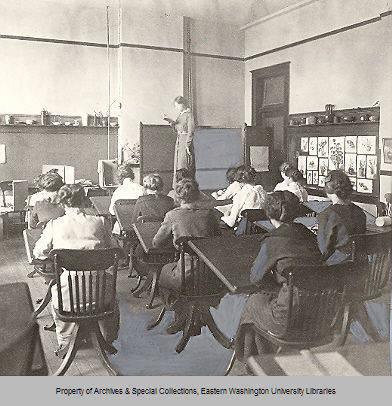 Art Class, Cheney State Normal School