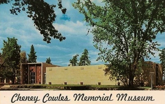 Postcard showing the Cheney Cowles Memorial Museum, nd.