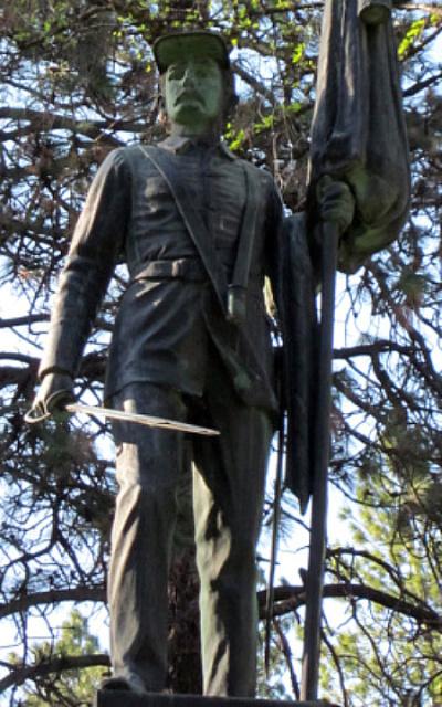 GAR Statue