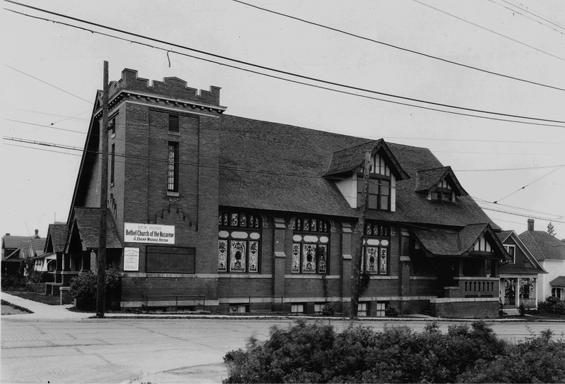 Bethel Church of the Nazarene, 1930s (image L2004-32.621 courtesy of the Northwest Museum of Arts and Culture)