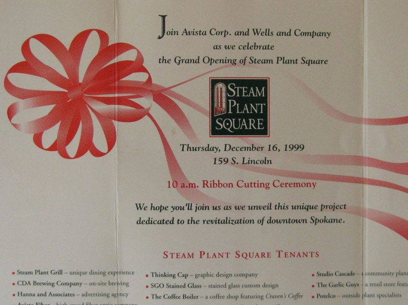 Steam Plant Square Grand Opening