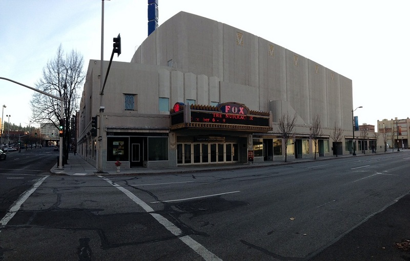 Street view of theater in 2012
