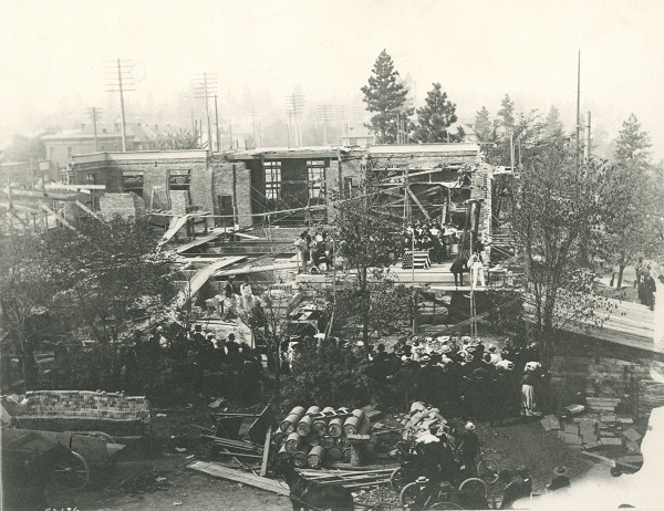Carnegie Library Construction