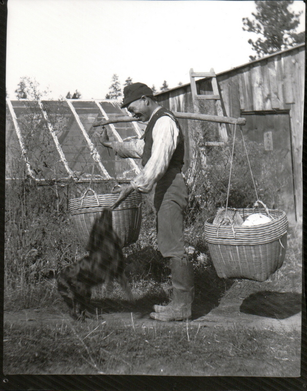Chinese Man Delivering Produce