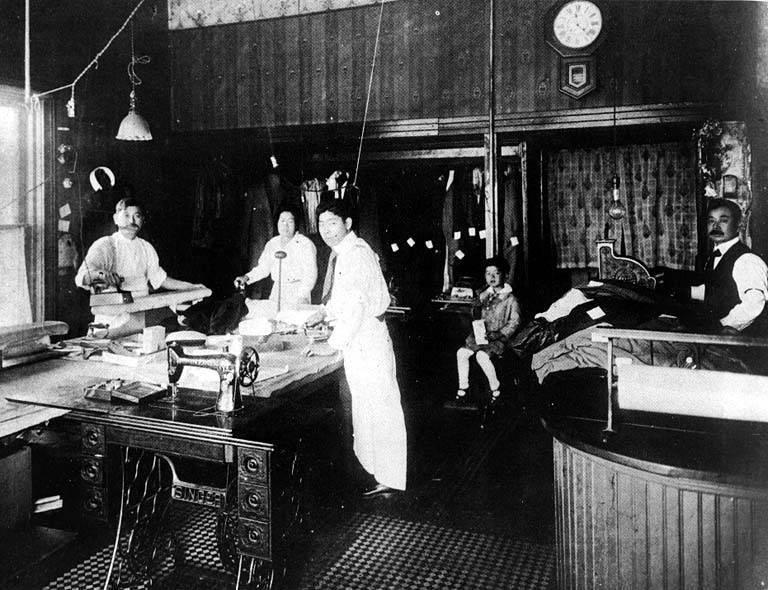 Japanese Hand Laundry, c. 1910