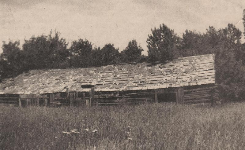 Longhouse of Chief Andrew Seltice along Saltese Lake, 1898