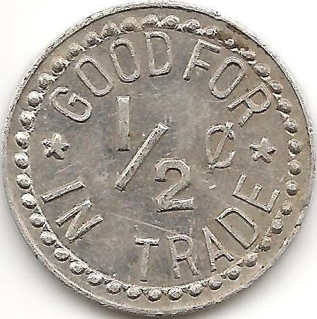 Benewah Creamery Coin (Reverse Side)