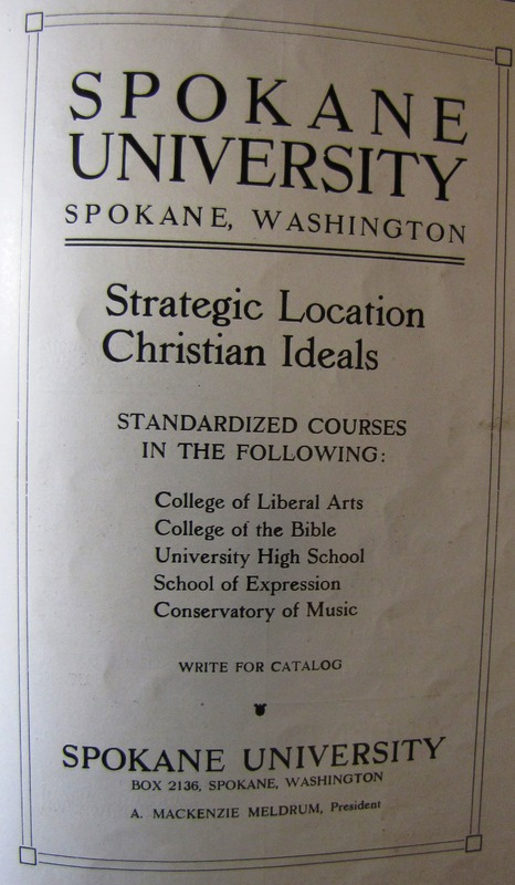 &quot;Spokane University: Strategic Location, Christian Ideals&quot; &lt;br /&gt;<br />