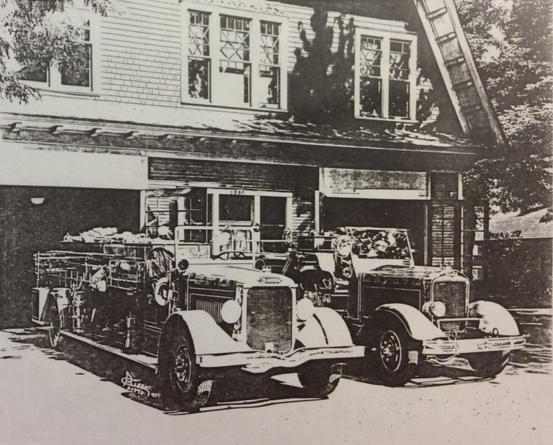 Spokane Fire Station No. 7 Apparatus