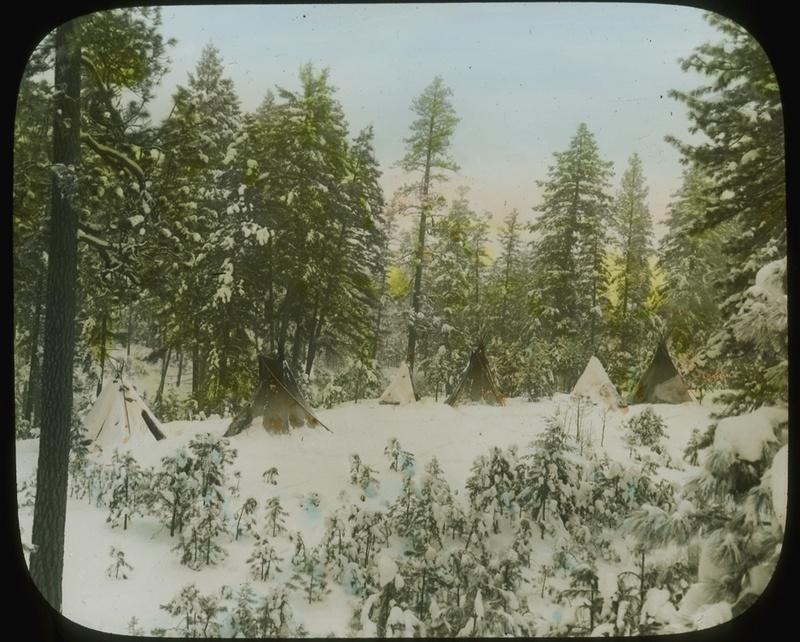Encampment circa 1909