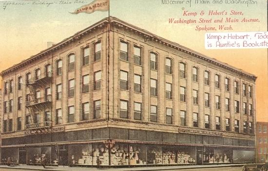 The Kemp & Hebert Building Postcard