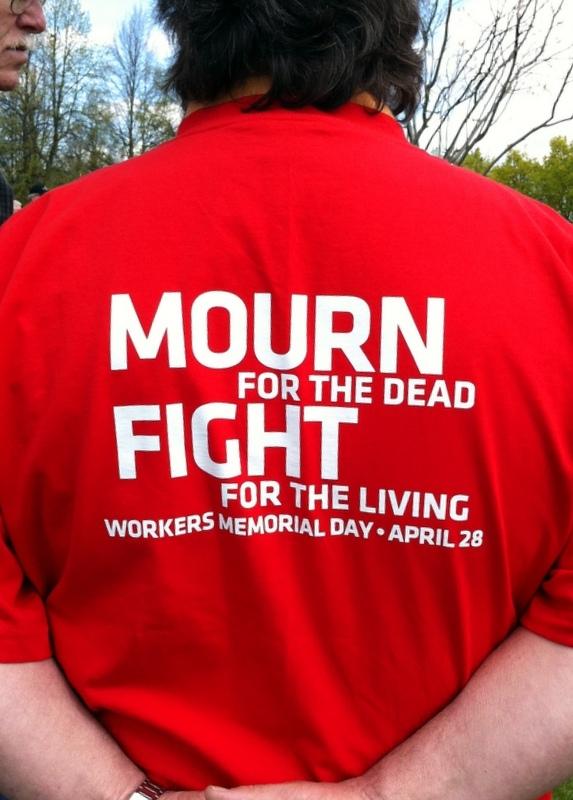 Spokane Workers' Memorial Ceremony April 28, 2012