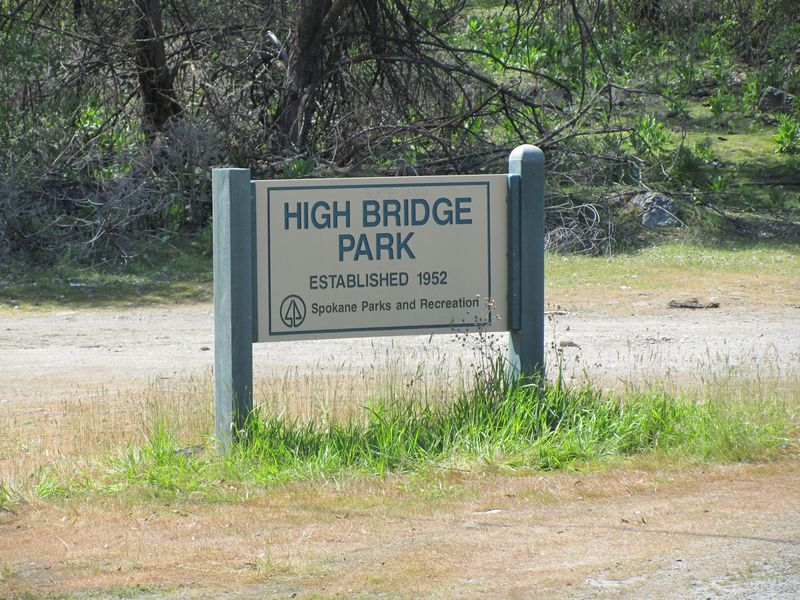 High Bridge Park Sign
