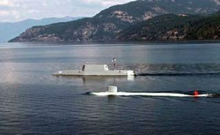 Model submarines in Scenic Bay of Lake Pend Oreille