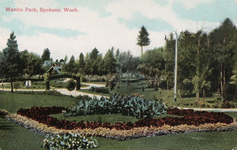Postcard - Manito Park, Spokane, Wash. circa 1905