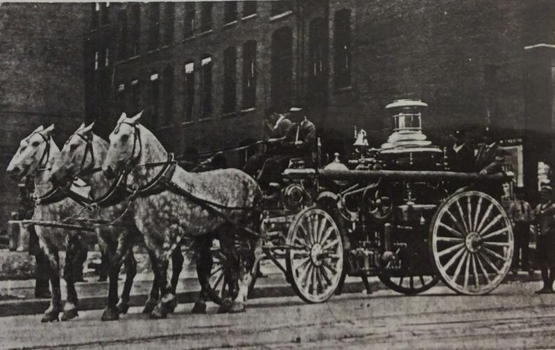 Spokane Fire Station No. 9 Steamer