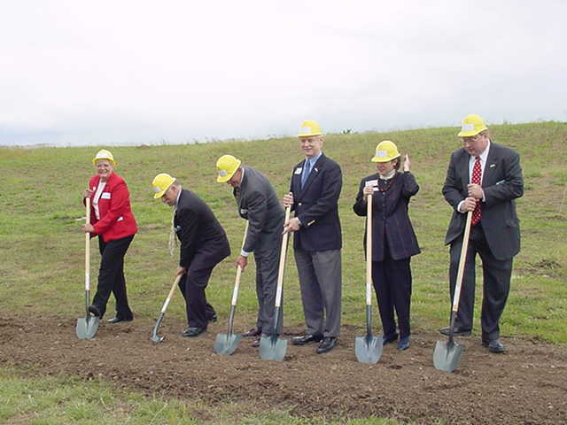 Digital Archives Groundbreaking Ceremony