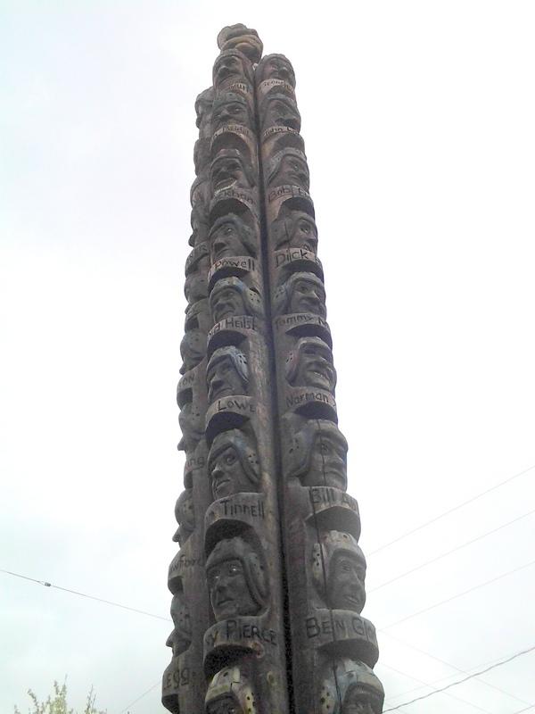 Codger Pole, Colfax, WA