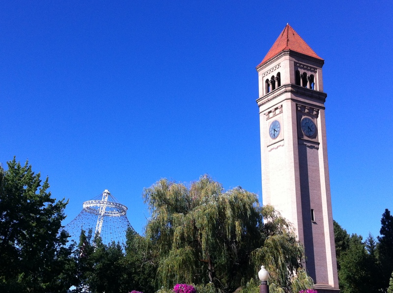 Clock Tower and Pavilion.