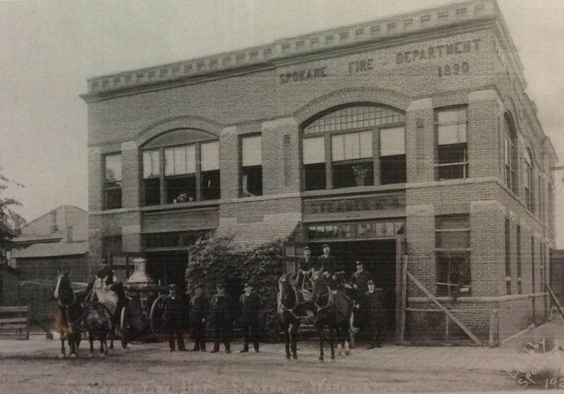 Spokane Fire Station No. 4 Personnel