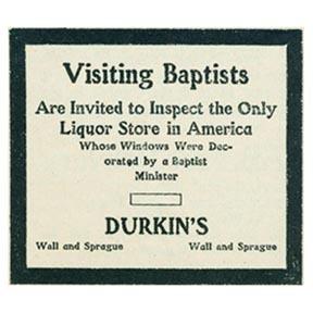 Advertisement by Jimmie Durkin