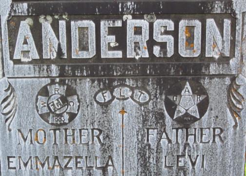 Anderson Headstone