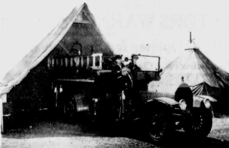 Spokane Fire Station No. 17, April 1941.