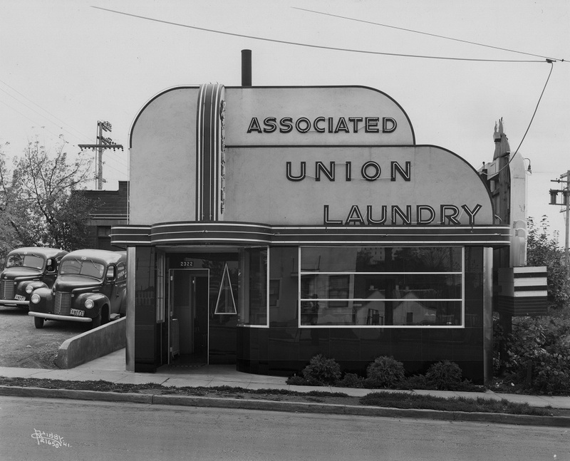 The Associated Union Laundry, 1941 (image L87-1.21650-41 courtesy of the Northwest Museum of Arts and Culture)