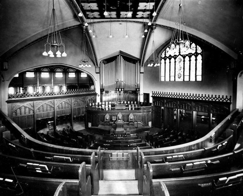 Interior before 1952