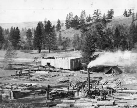 Elberton Sawmill, 1896