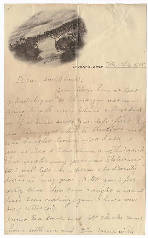 Abbie Widner Letter